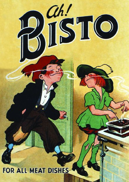 Vintage Bisto Gravy Classic Advertisment Print/Poster. Sizes: A4/A3/A2/A1 (003109)